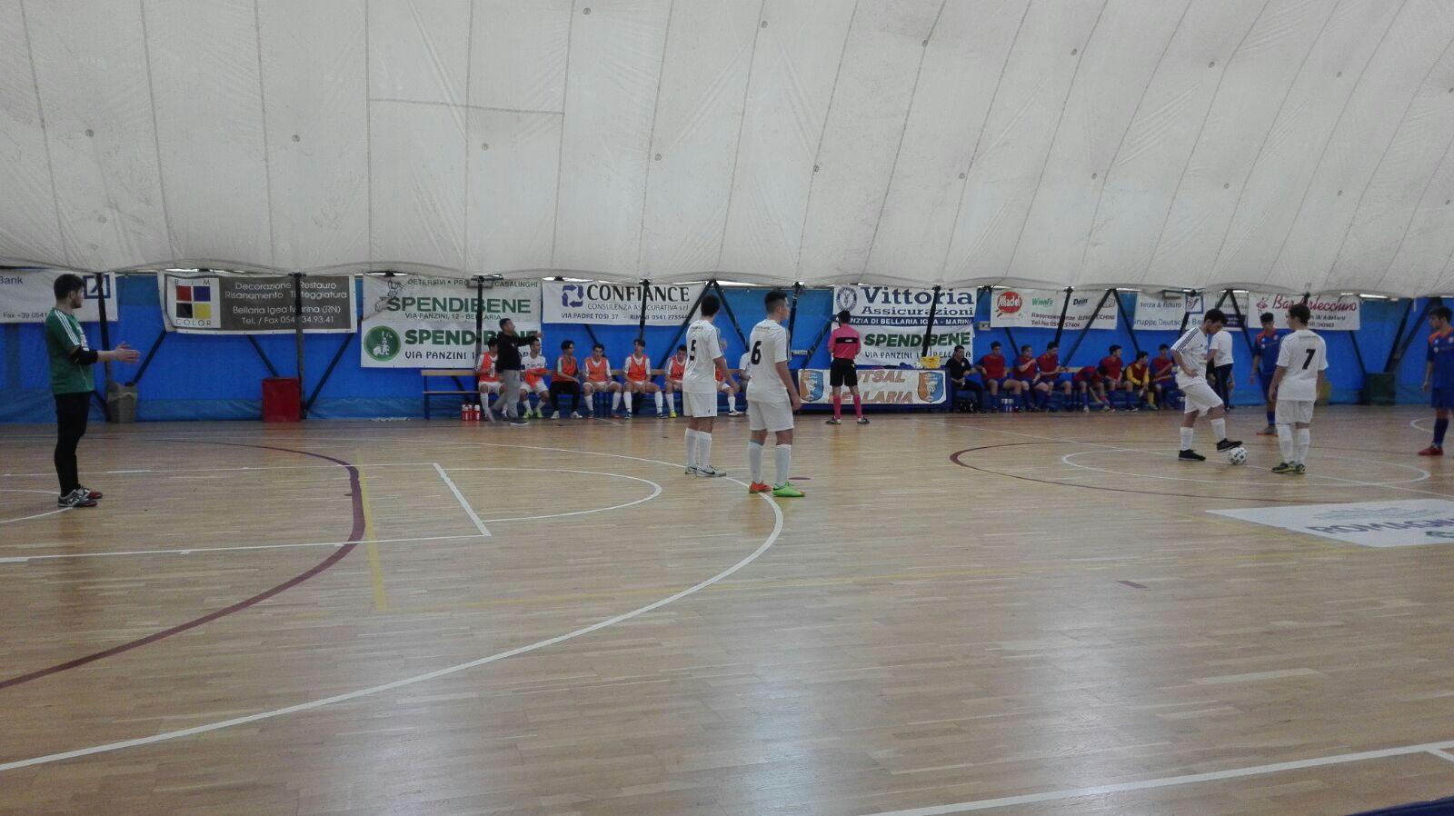 Coppa Juniores: Bellaria-Futsal Cesena 1-7