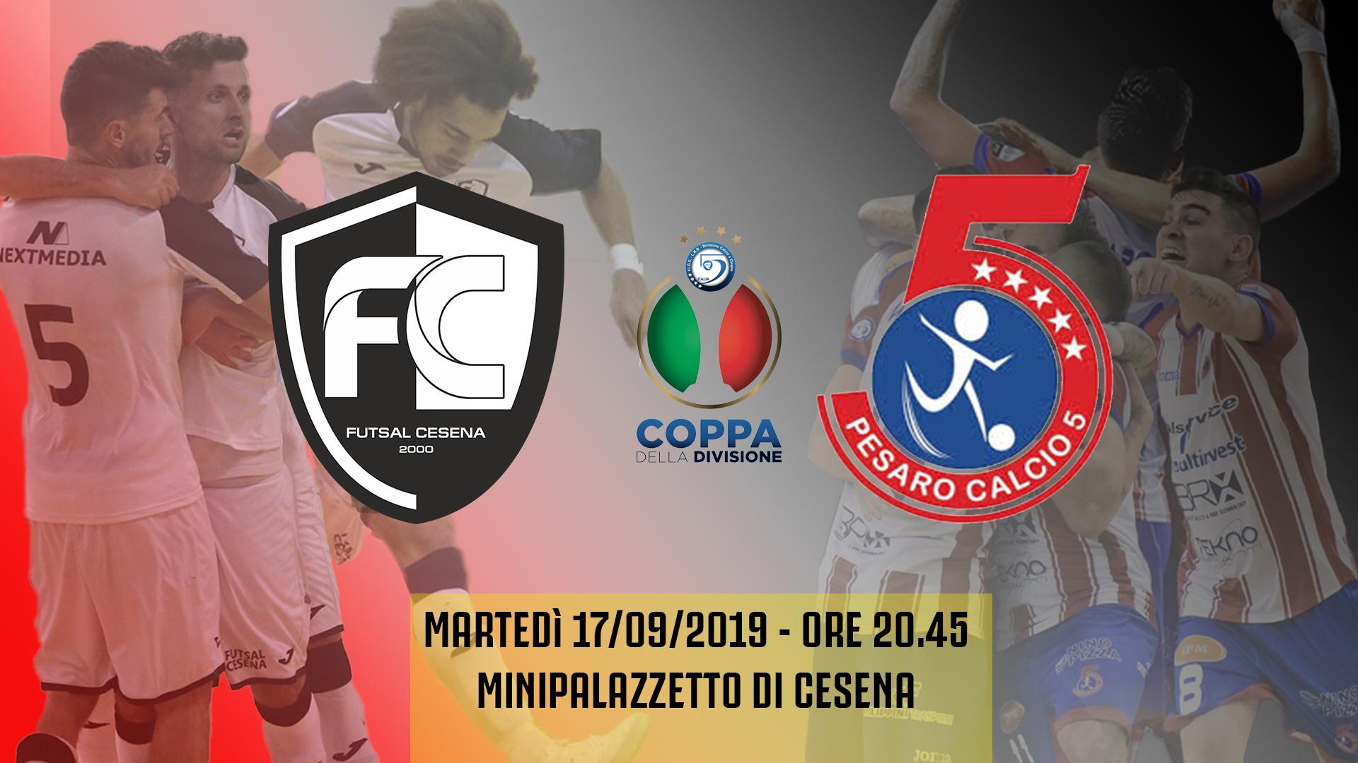 Coppa Divisione pregara: Futsal Cesena vs Italservice Pesaro