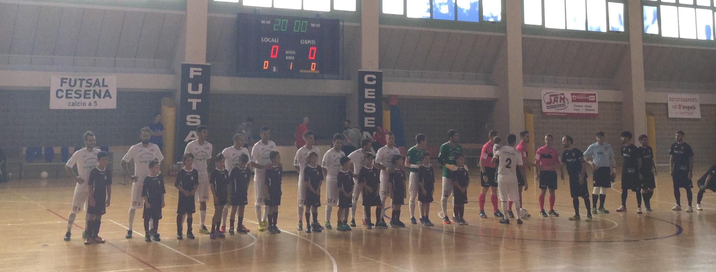 1a giornata: Futsal Cesena-Corinaldo 6-1