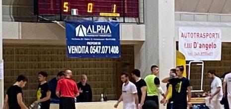 Amichevole: Futsal Cesena-Bagnolo 5-1