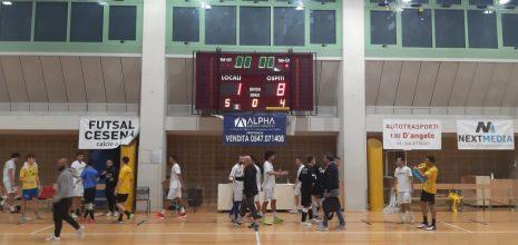 Amichevole: Futsal Cesena-Gubbio 1-8