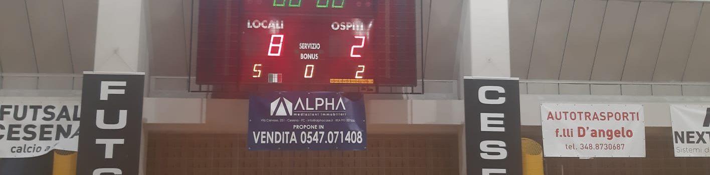 Futsal Cesena-Grottaccia 8-2