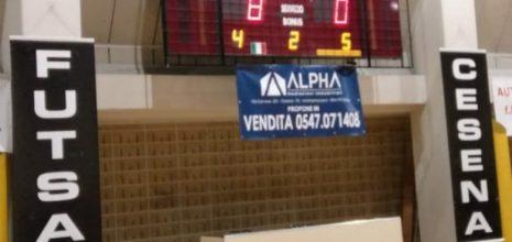 Futsal Cesena-Corinaldo 8-0