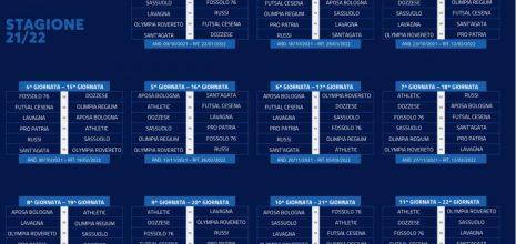 UFFICIALE: presentato il calendario del girone B 2021/22