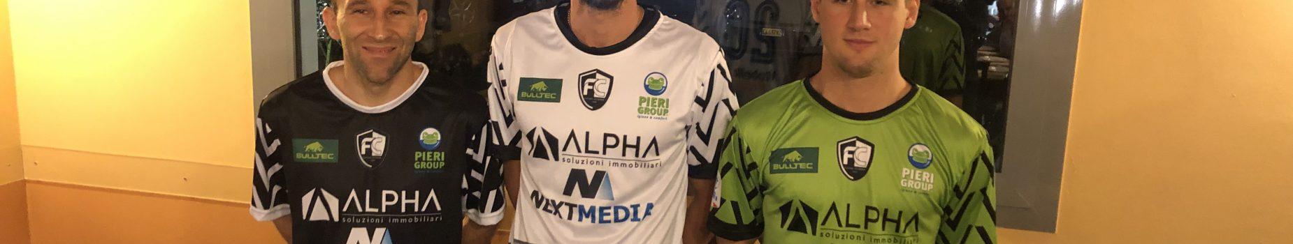 Al Maccanone la Futsal Cesena svela le divise 2021/22